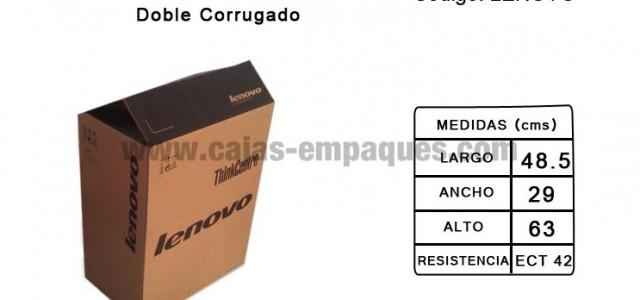 Caja de cartón de oportunidad de corrugado doble para embalaje ECT 42