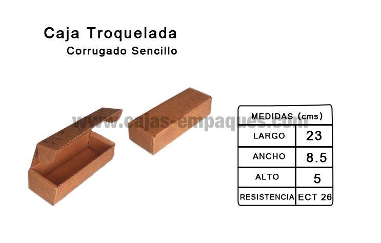 cajas de carton monterrey caja de cart n troquelada corrugado sencillo modelo z 4