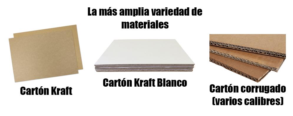Diferentes tipos de cartón para el fabricado de cajas en Monterrey