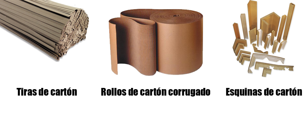 Otros productos de cartón como rollos de cartón, tiras y esquinas en Monterrey