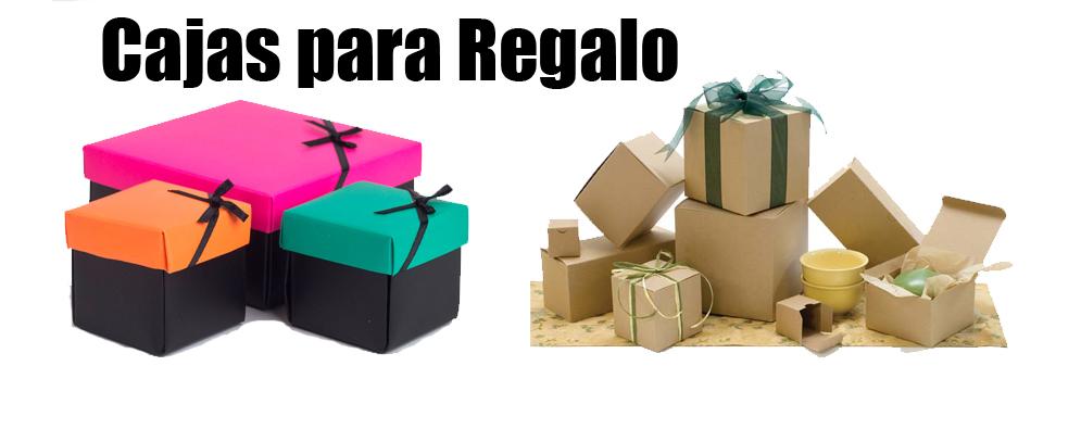 Cajas de cartón para regalo en diferentes tamaños y colores en Monterrey