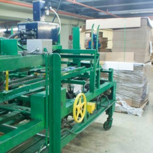 Maquina maquiladora de cajas de cartón en Monterrey
